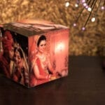 Cubelit – Personalized Lamp with 5 pictures