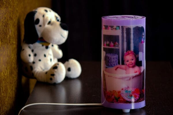 Personalized Cylinder lamp – Perfect gifting idea