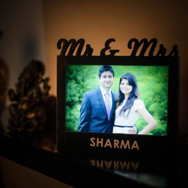Couple photo frame for anniversary gift