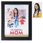 Personalized Caricature Frame for mom