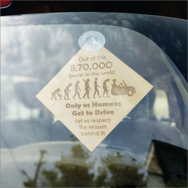 Unique gift for people who love to drive