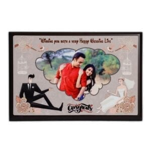 Wedding gift - marriage photo frame