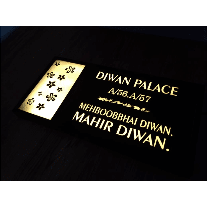 Parichay - personalized house name board
