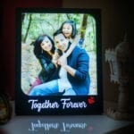 Photo frame together forever for couple gift