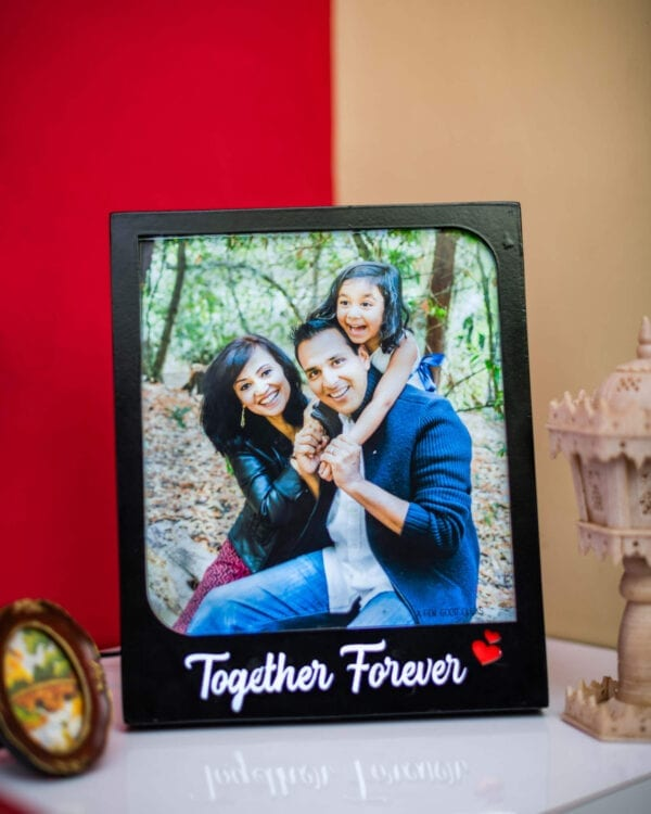 Together Forever light photo frame