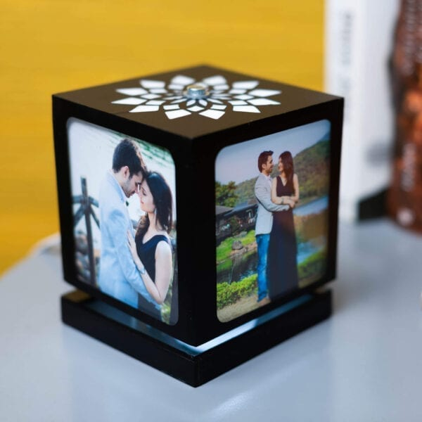 Personalized Gift – Rotating Photo lamp