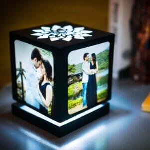 rotating photo lamp
