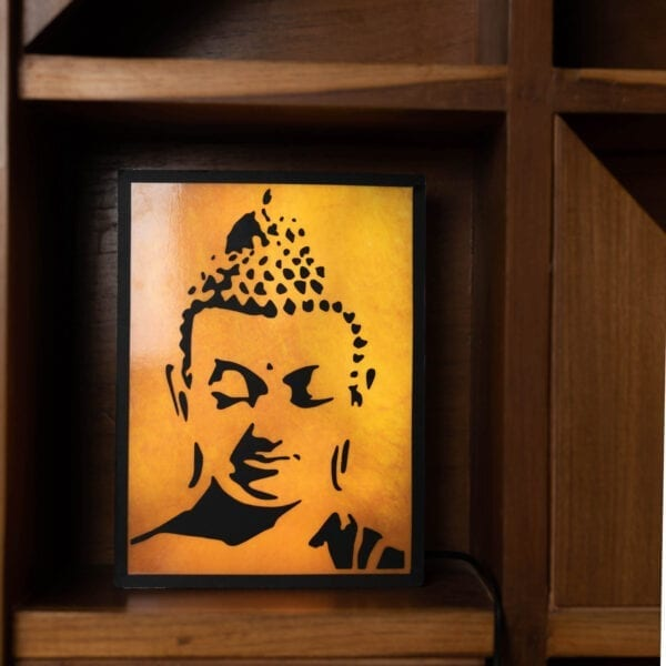 Gautam buddha wall lamp for home decor