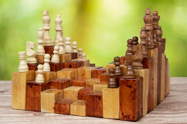 Buy 3d Chess board game in wood