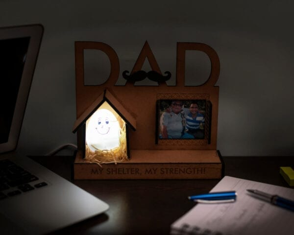 Photo Lamps for father