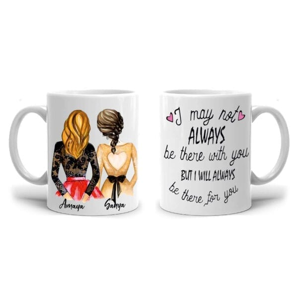 Always for you personalized mug