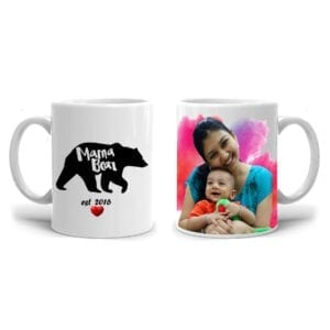 Mama bear personalized cup