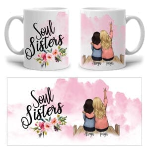 Personalized mug for BFF
