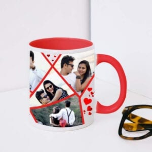 Personalized valentine's day mug