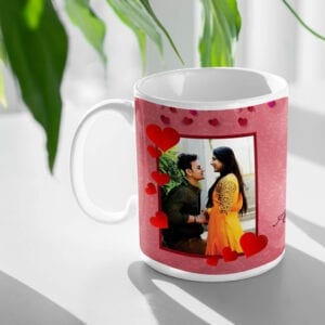 Every day is a Valentine's day couple mug