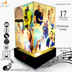 Yaadein rotating lamp with music