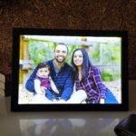 8×12 led photo frame