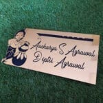personalized name plate