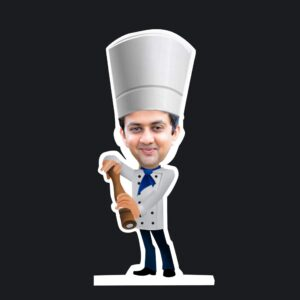 Materchef caricature standee