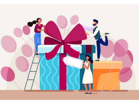 Gifts online in the time of COVID19