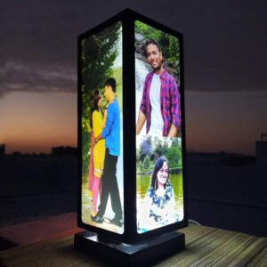 You & I Rotating photo lamp