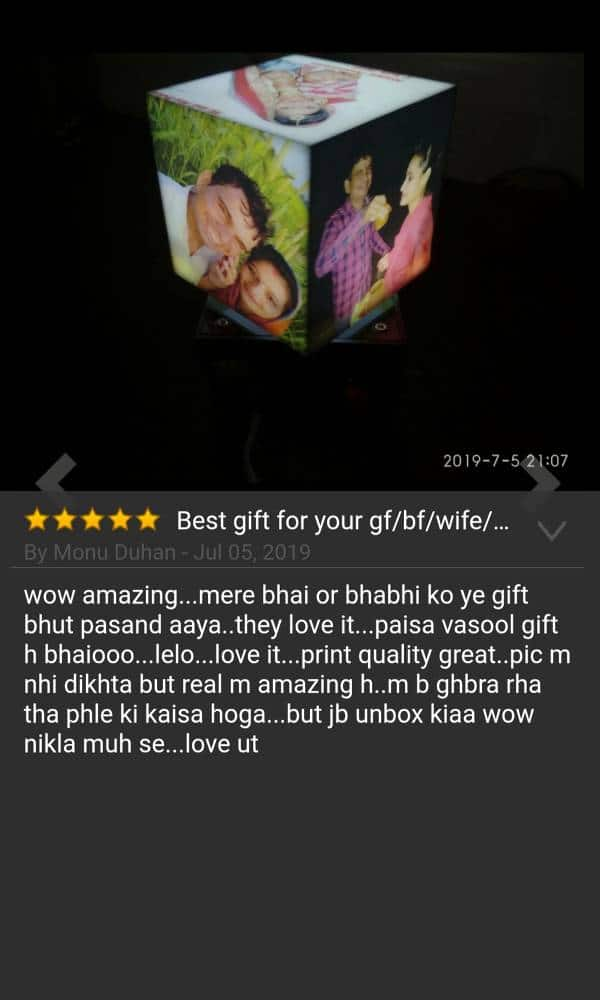 Best customized gift for bhai and bhabhi review