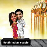 personalized gift for south indian couple wedding