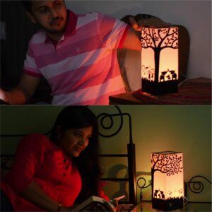 Valentines day gift long distance lamp