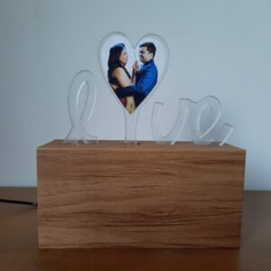 Love photo lamp for valentine's day