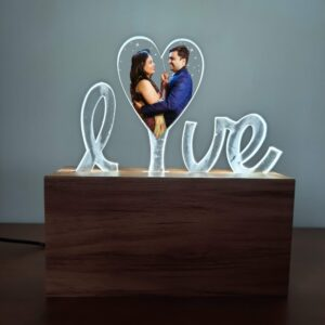 Love Photo Lamp