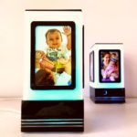 Friendship lamp with photos